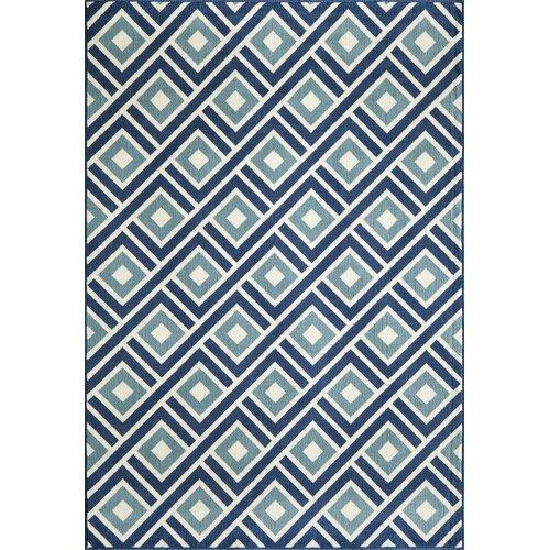 Momeni Baja Blue Indoor/Outdoor Rug