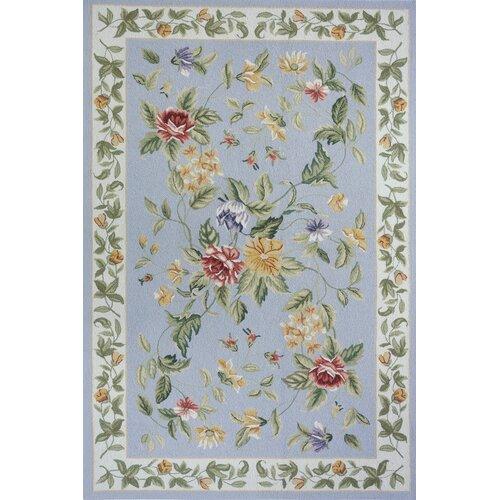 Spencer Blue Country/Floral Rug