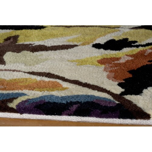 Momeni New Wave Ivory Multi Rug
