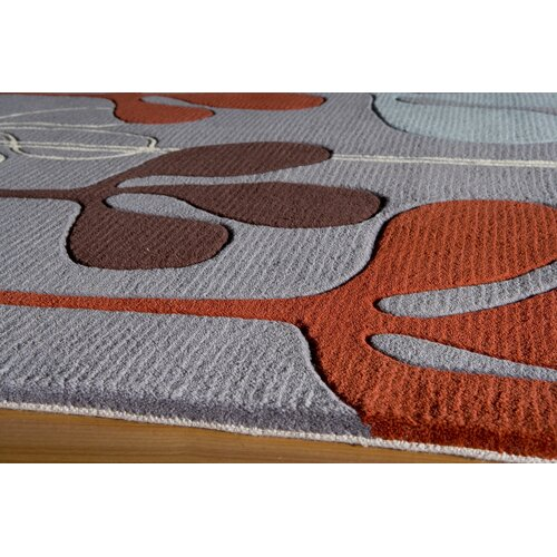 Momeni New Wave Steel Rug