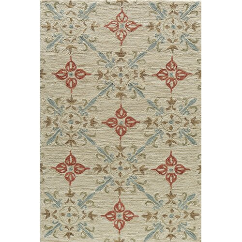 Summit Sand Bold Floral Rug