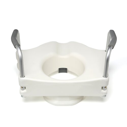Lumex Locking Raised Toilet Seat