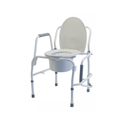 Lumex Steel Drop Arm Three-In-One Commode
