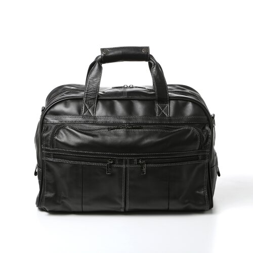 Scully Leather Laptop Briefcase