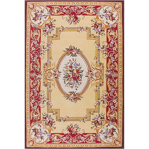 Traditional Odeon Coral Rug