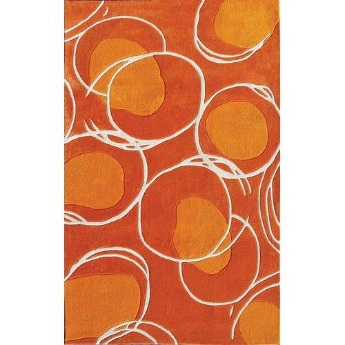 Wildon Home ® Lysander Orange Rug