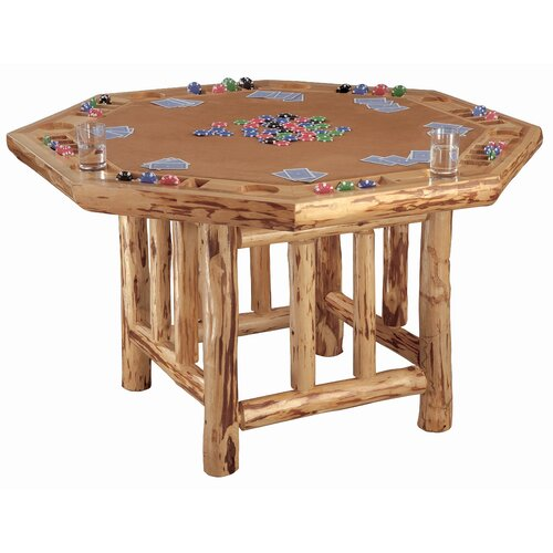 Octagon Poker Table