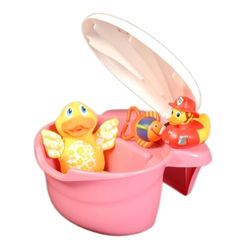 Mom Innovations The Potty Patty Tub Toy Organizer in Pink
