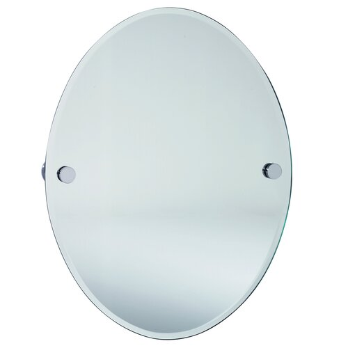 Loft Oval Beveled Edge Mirror