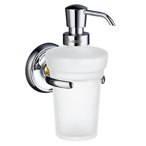 Smedbo Villa Holder with Soap Dispenser