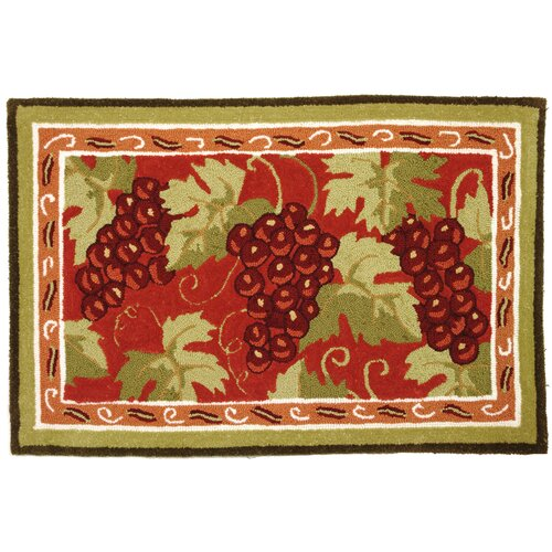 Homefires Provence Grapes Rug