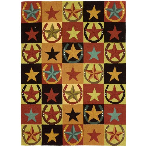Homefires Western Stars And Horseshoes Area Rug & Reviews