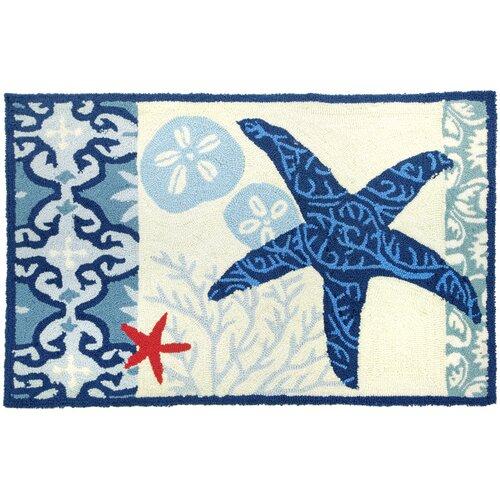 Italian Tile With Starfish Rug