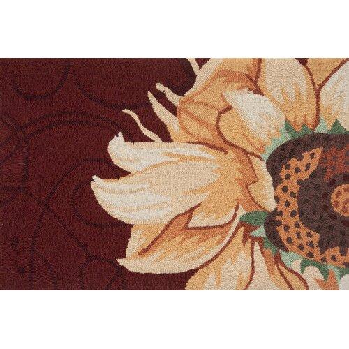 Radiant Sunflower Novelty Rug