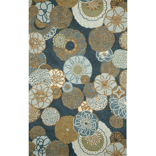 Trans-Ocean Rug Ravella Disco Denim Outdoor Rug