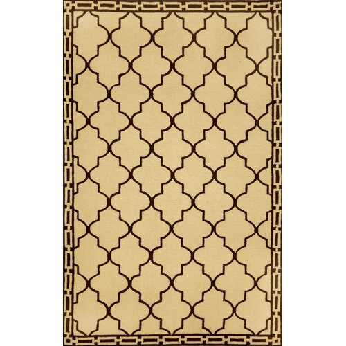 Trans-Ocean Rug Ravella Floor Tile Wheat Indoor/Outdoor Rug