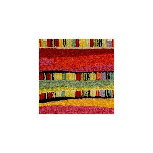 Trans-Ocean Rug Seville Mosaic Stripe Fiesta Rug