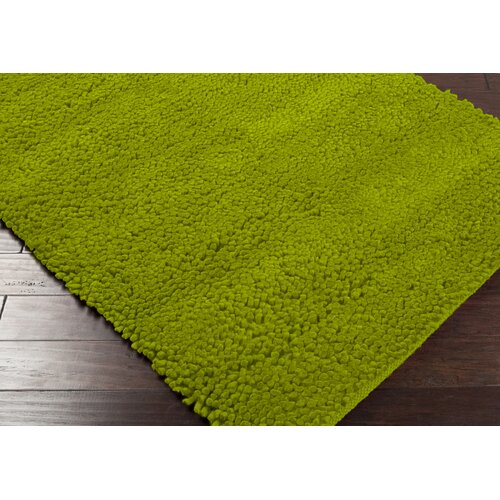 Lime Green Rugs For Kitchen: Aros Lime Green Area Rug