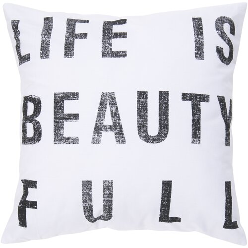 Surya Life is Beauty Pillow