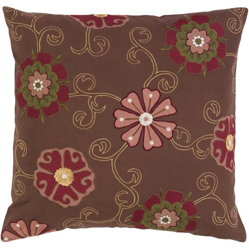 Fashionable Floral Pillow
