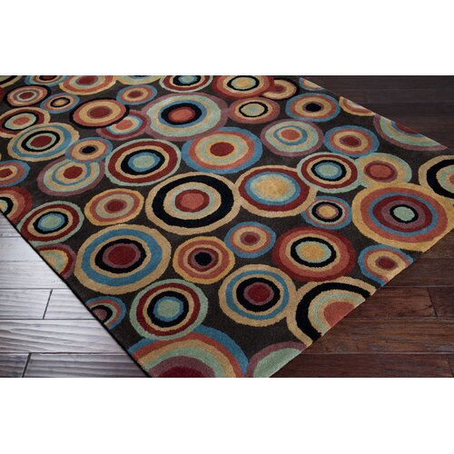 Surya Dazzle Brown Rug