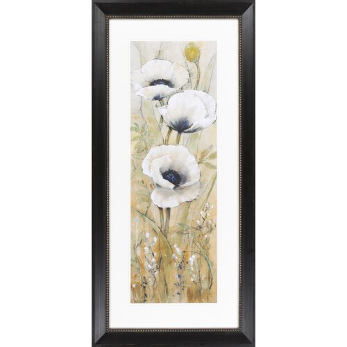 Linen Abstract I (A) by Vision Studio Framed Graphic Art