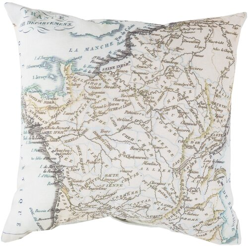 Mapped in Magnificence Pillow