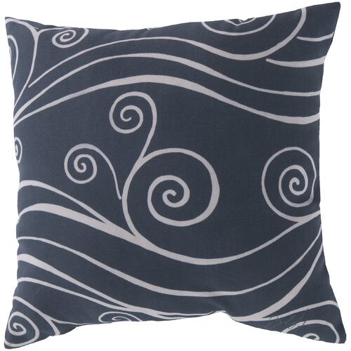 Sweeping Swirls Pillow