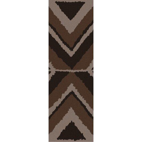 Calaveras Chocolate Geometric Rug