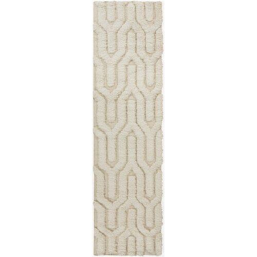 Kabru Ivory Geometric Rug