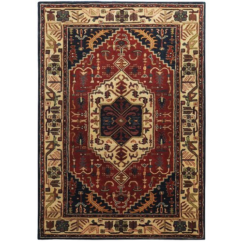 Ancient Treasures Beige/Ruby Rug