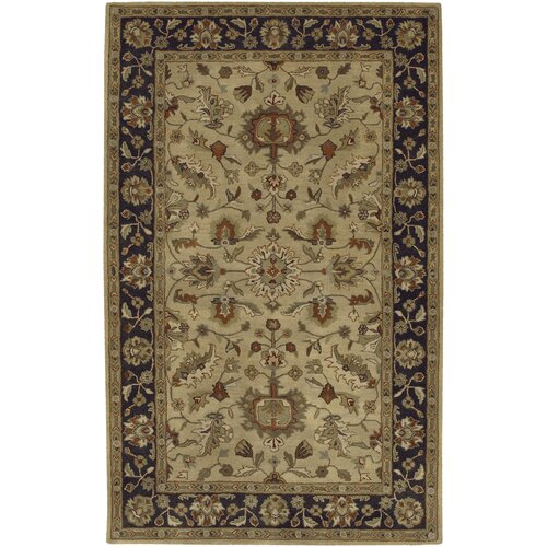 Surya Crowne Gold/Charcoal Rug