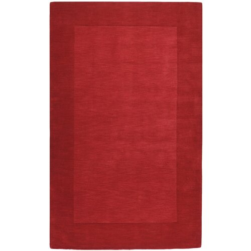 Mystique Red Border Rug