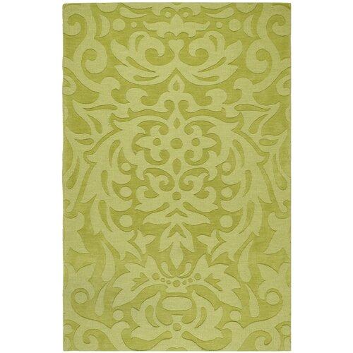 Mystique Lime Green Floral Rug