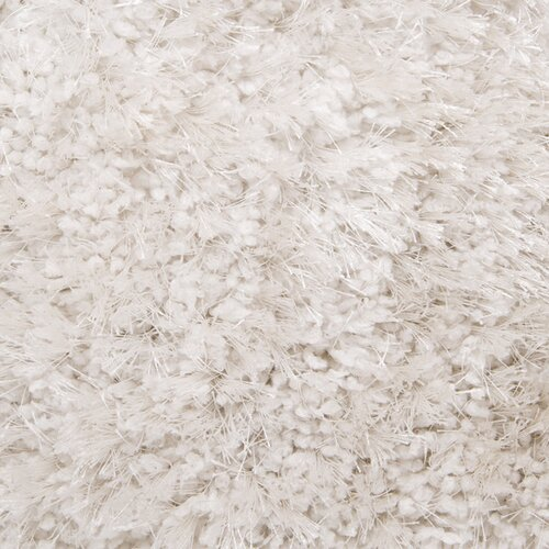 Grizzly White Shag Rug