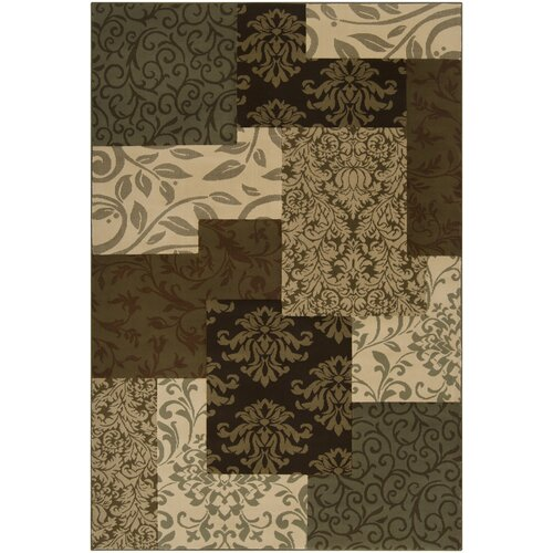 Harmony Ivory / Dark Brown Rug