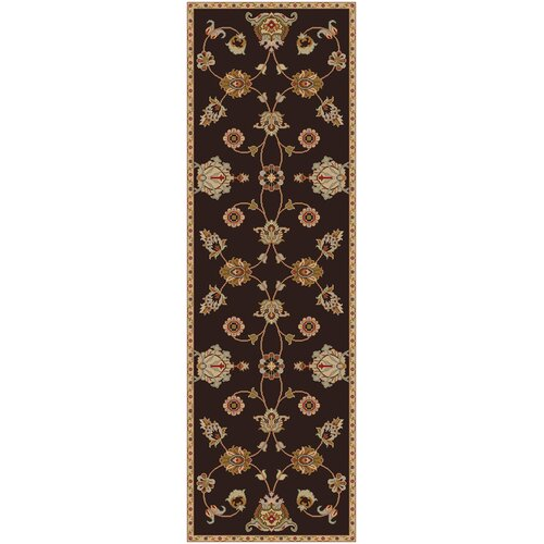Surya Langley Dark Brown Oriental Rug