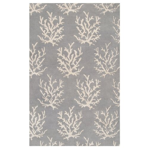 Surya Escape Light Gray/White Rug
