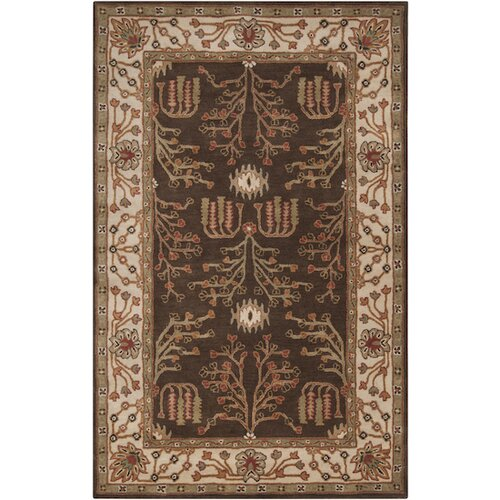 Surya Bungalo Dark Brown Rug