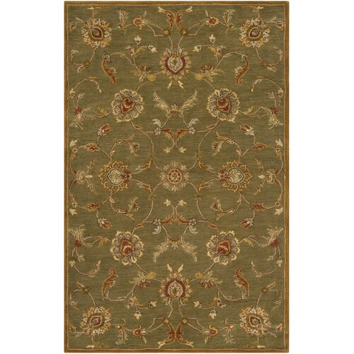 Surya Kensington Green/Light Rug
