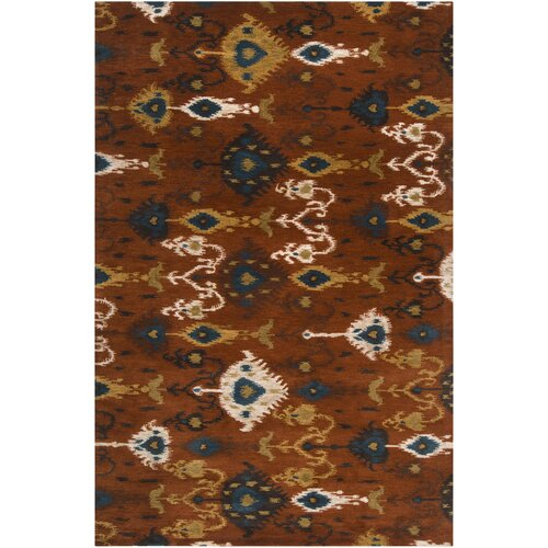 Surya Surroundings Rust Rug