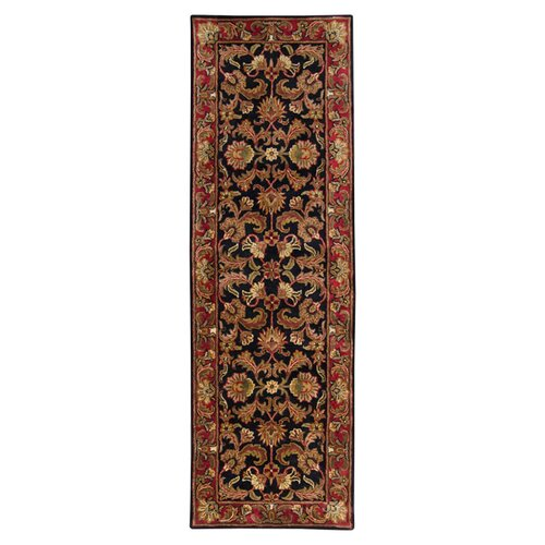 Surya Ancient Treasures Black/Red Rug