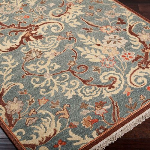 Surya Sonoma Blue/Brown Rug