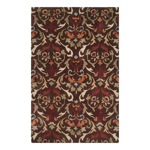 Surya Edgewood Dark Chocolate/Adobe Rug