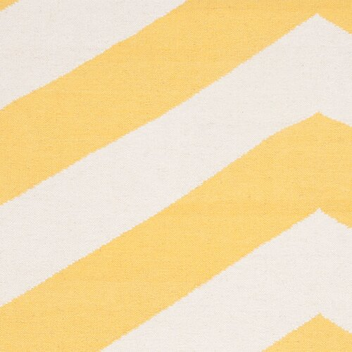 Surya Frontier Sunshine Yellow/White Rug