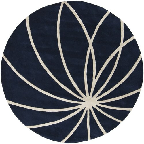 Surya Forum Dark Blue/Antique White Rug