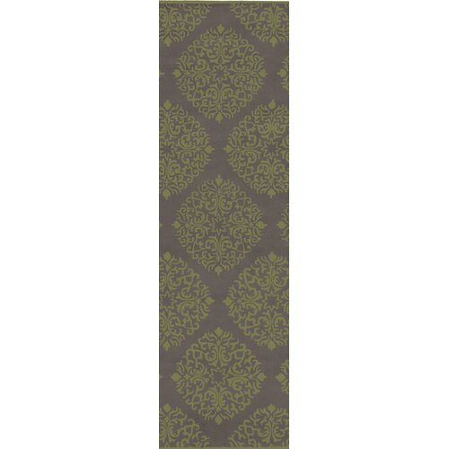Chapman Lane Gray/Fern Green Rug