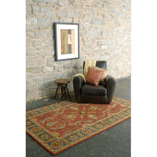 Surya Caesar Rust Red/Kerry Blue Rug