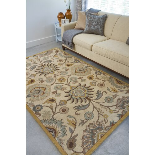 Surya Caesar Beige/Light Blue Rug