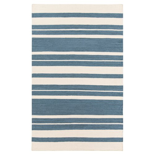 Frontier Blue Flagstone/Parchment Rug